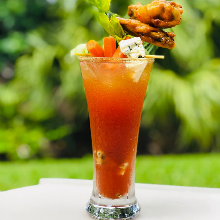 Buffalo Chicken Wing Bloody Mary